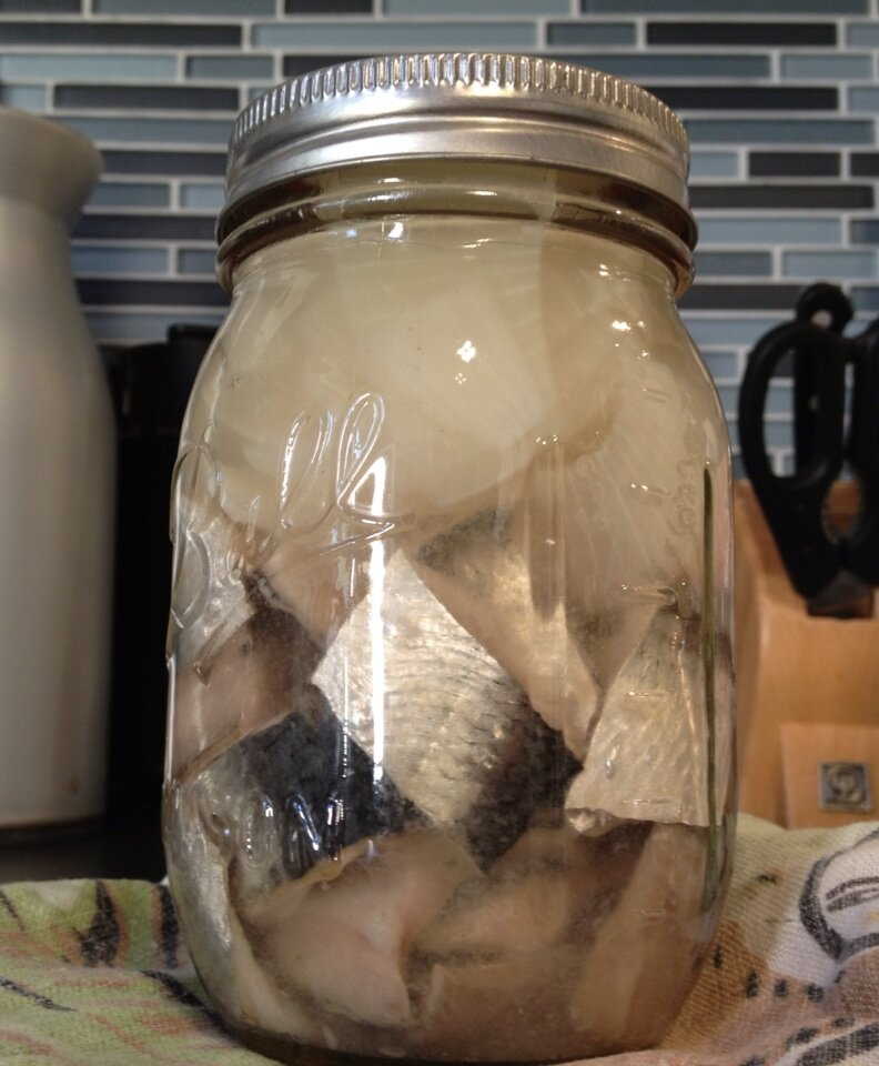 Pickled Herring Recipe (From Fresh Herring) And BONUS Baked Chopped Herring Recipe