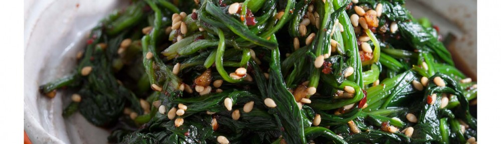 Spinach-with-Sesame