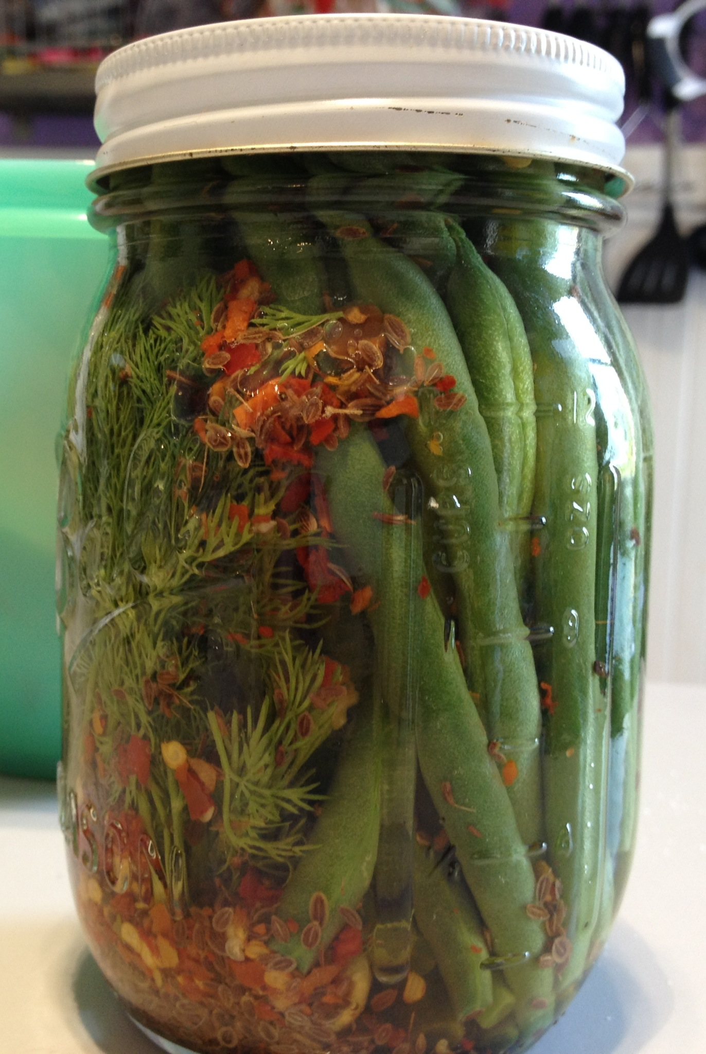 Bloody Mary-Critical Dilly Pickled Green Beans Recipe ...