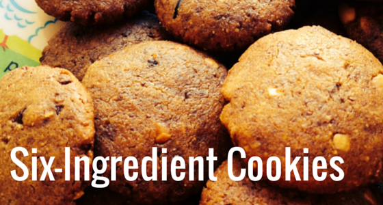 Six-Ingredient Cookies – One Bowl, One Fork