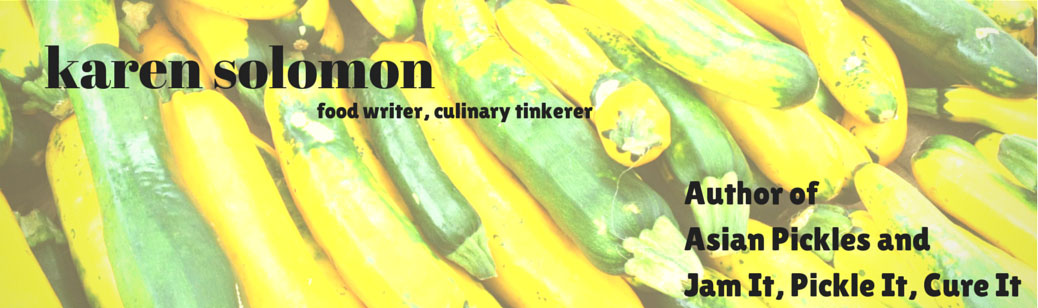 Karen Solomon – Food Writer/Cookbook Author