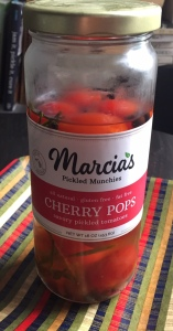 pickled cherry tomatoes from Marcia's Muchies