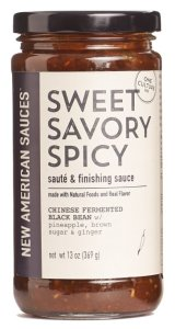 Sweet Savory Spicy Sauce from New American Sauces